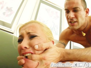 Rachel Starr Casting Ass Traffic Big Ass Blonde Squirts As Shes Fucked Hard, Hardcore Anal