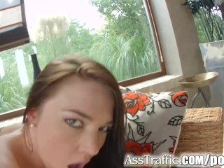 AssTraffic Beautiful French babes Angelik Duval and Tiffany Doll star in th