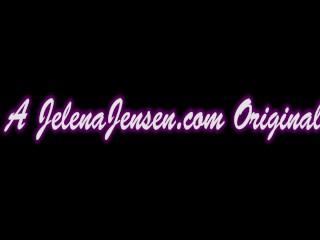 Jelena jensen masturbates with pink heels!