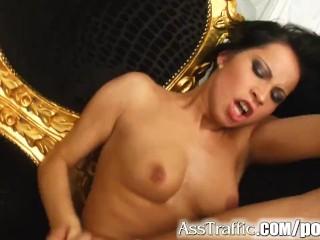 Porn hot hard anal sex sucking red head