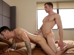 NextDoorRaw Johnny Torque Bottoms For The First Time!