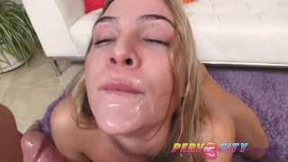 Pervcity Blonde Freshman Blair Williams Sucks Cock  point of view sloppy big cock pervcity blowjob blonde pov big dick young gagging big boobs natural tits deep throat ball sucking
