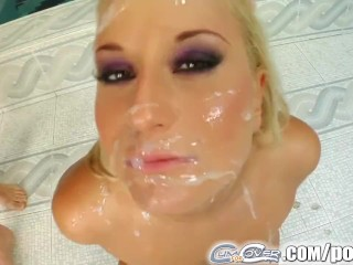 Cum For Cover Cum covering leaves Myra shiny and sticky