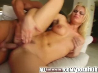 All Internal Nikki gets filled with jizz and it drips from her ass