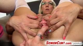 Videos Porno Xxx - Senior Cunt - Big boobs Old Cunt Stretching Zoomed In Feat. Czech Lady Marketa