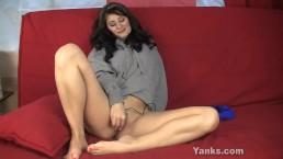Brunette Ariel Masturbating
