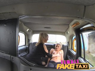 Fingering Porn Tube — FemaleFakeTaxi Finger-fucking  at Sex Strike