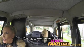 FemaleFakeTaxi Finger-fucking a fit bird Making out