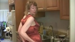 Shy Stepmom's Butthole