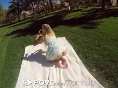 POVD – Teen babe Alex Grey turns a nice picnic into hot pov sex