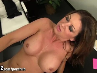 The Doggie Sex Position Fucking, WANKZ- Horny MILF Boss Gets Fucked On Her Desk Big Tits Brunette Cumshot