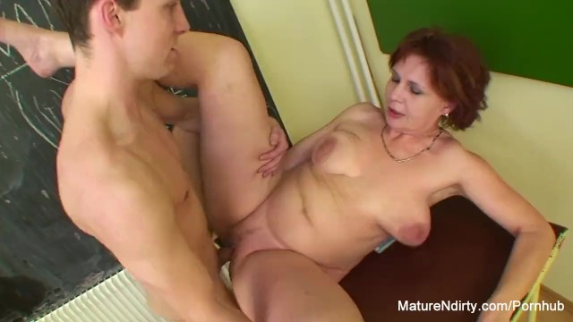 Mature age law students Student fucks his much older teacher
