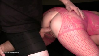 Squirting MILF takes it all ways, gets her pussy fed, filled & explodes!!!