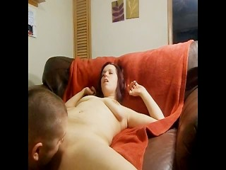 Autumn gets fucked doggie style and gets a cream pie