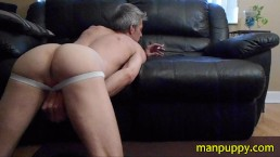JOI Smoking Fetish Jockstrap AssPlay - Manpuppy