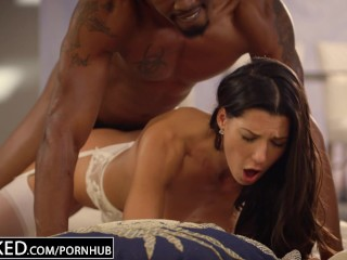 BLACKED First Interracial For Spanish Beautiful girl Alexa Tomas