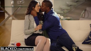 BLACKED First Interracial For Spanish Babe Alexa Tomas Missionary style