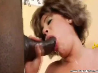 Biggest black cock tranny