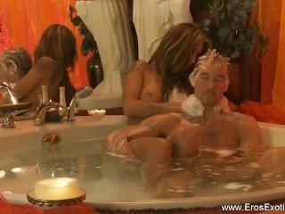 Golden Blonde Turkish Massage