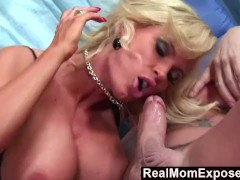 RealMomExposed - Busty Milf Horny For Young Cock