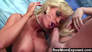 RealMomExposed Busty Milf Horny For Young Cock
