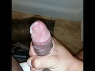 Solo Jack off scene. watch me cum and drain my fluids