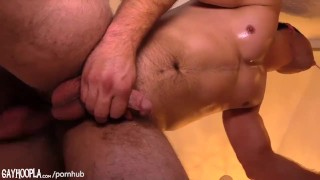 Hairy Teen Messes Around With Uncut Fit Neighbor