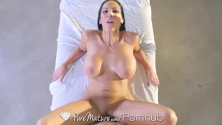 PureMature Big boobs milf Veronica Rayne gets fucked