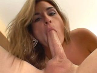 Kaycee Brooks has a dollish face with a big lust for cock sucking