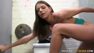 Brooklyn Chase cheats on her husband at Gloryhole  big black cock big tits big cock blowjob gloryhole pornstar fetish busty hardcore interracial dogfartnetwork brunette glory hole