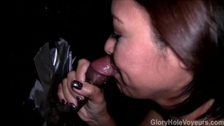 Asian MILF Gloryhole Blowgang  bj oral cim asian blowjob gloryhole milf cumshots cock sucking blowbang reality gloryholevoyeurs tattoos facial