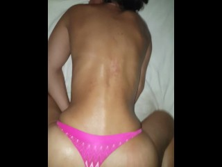 Fucked In The Ass With My Thongs Slid To The Side (Part 2)