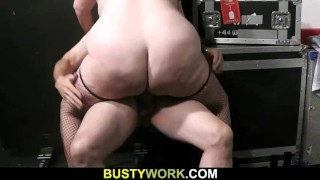 Rides his oral dick bitch fat after prelude secretary boss