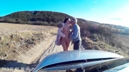 VickyLove car sex part3.