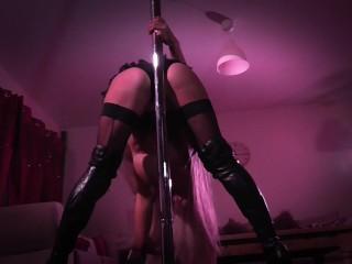 Arab orgasm com dancing for the weekend teasing big boobs naked pole dancing pole dan