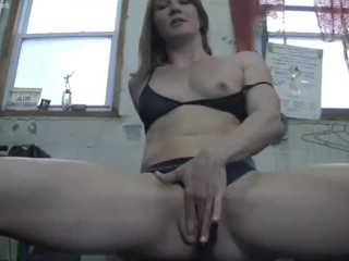 Charlotte Day Gets Fondled in the Gym