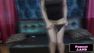 Preview 3 of Freshfaced femboy jerks and shows ass off
