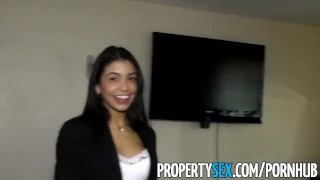 Pussy cheers with propertysex up sex sexy agent latina client squirting point propertysex