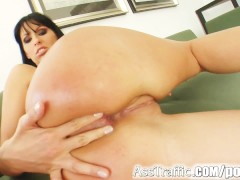 Ass Traffic Lisa Sparkle's asshole has that cock plunged in