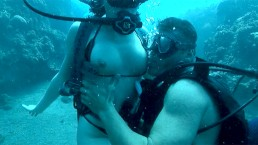 Sabina Lets a Man Fuck Her under Water for an Ocean Polluting Cumshot