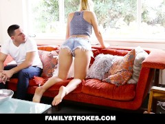 Almost caught by wife dad fucking patrons