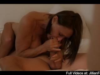 Jillian Foxxx Milf BJ Scene 2