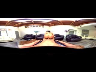 VR Teen Megan Rain rides big dick in POV 360 Virtual Reality experience
