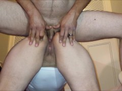 Wife's Virgin Ass Gets Unwanted Double Creampie By Husband's Twin