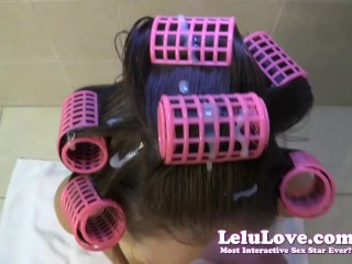 Pimp My Teen Porn Lelu Love-Pov Hj Bj Cum In Hair Curlers Hairwashing, Amateur Big Dick