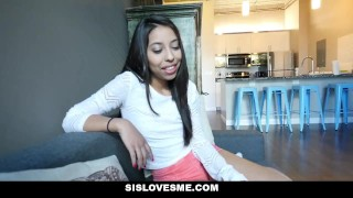 Preview 1 of SisLovesMe - Big Step Sister Always Knows Best