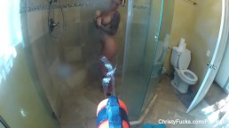 Water gun fun with super sexy Christy Mack
