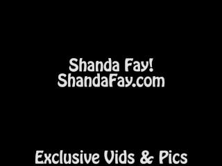 Canadian Milf Shanda Fay Gives Jerks Him Off!