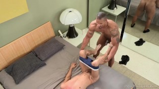 DylanLucas Horny Hunk Pounds College Boy Amateur tits