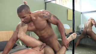 DylanLucas Horny Hunk Pounds College Boy Cowgirl doggystyle